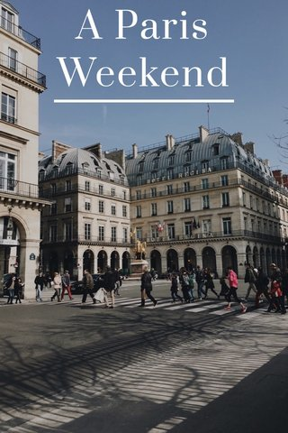 A Paris Weekend
