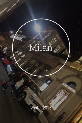 Milan Winter 2015