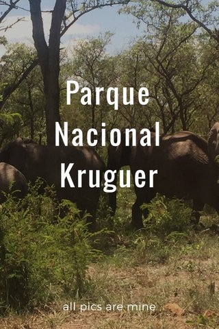 Parque Nacional Kruguer all pics are mine