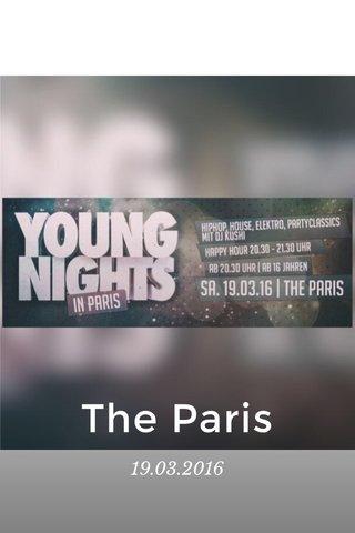The Paris 19.03.2016