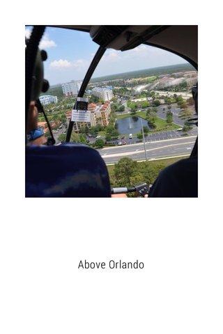Above Orlando