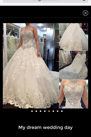 My dream wedding day