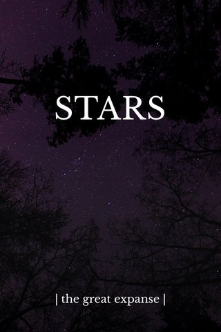 STARS | the great expanse |