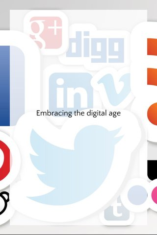 Embracing the digital age