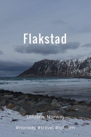 Flakstad Lofoten, Norway #norway #travel #lofoten