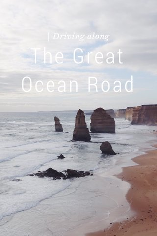 The Great Ocean Road | Driving along