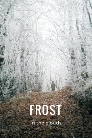 FROST in the clouds
