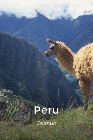 Peru Contrasts