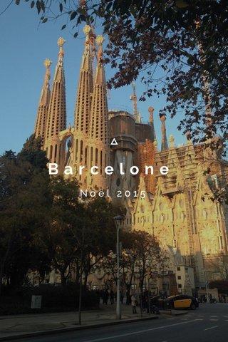 Barcelone Noël 2015