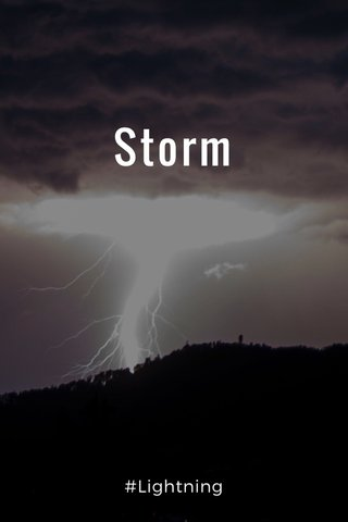 Storm #Lightning