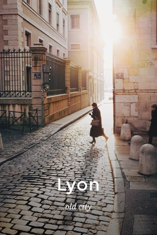 Lyon old city