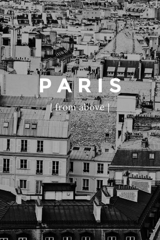 PARIS | from above |