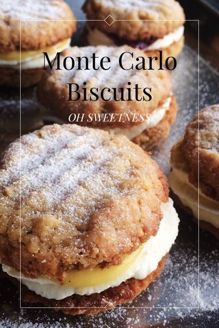 Monte Carlo Biscuits OH SWEETNESS