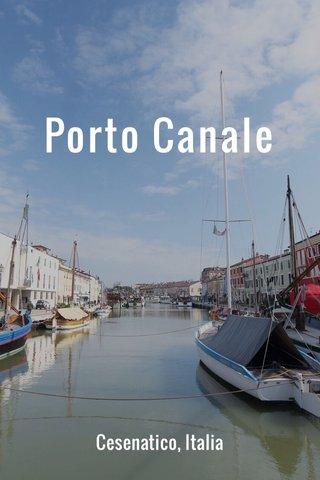 Porto Canale Cesenatico, Italia