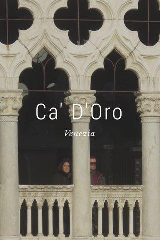 Ca' D'Oro Venezia