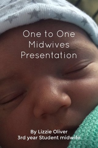 One to One Midwives Presentation By Lizzie Oliver 3rd year Student midwife