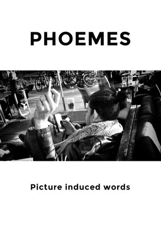 PHOEMES Picture induced words