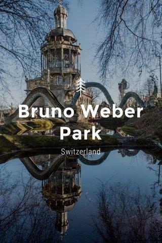 Bruno Weber Park Switzerland