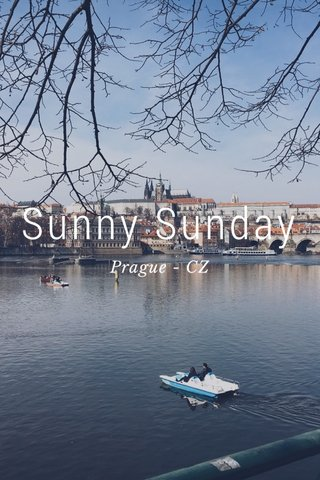 Sunny Sunday Prague - CZ