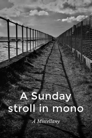 A Sunday stroll in mono A Miscellany
