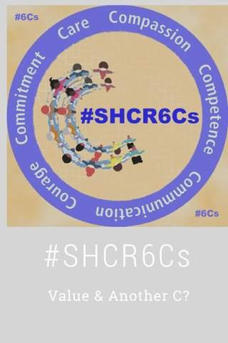 #SHCR6Cs Value & Another C?