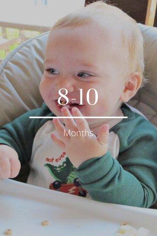 8-10 Months