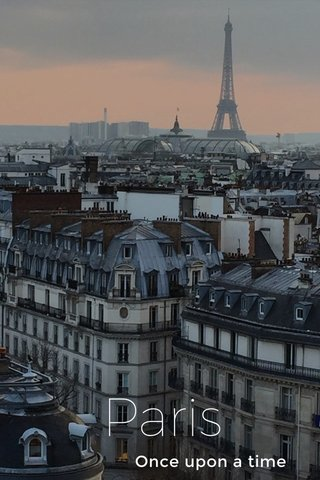 Paris Once upon a time