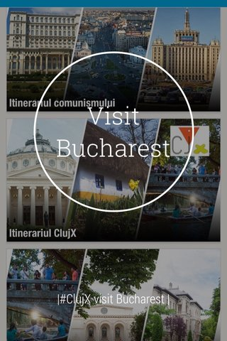 Visit Bucharest |#ClujX visit Bucharest |