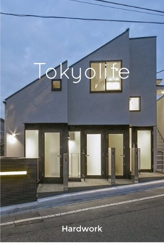 Tokyolife Hardwork