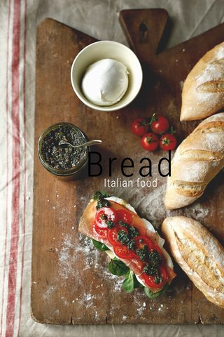Bread Italian food