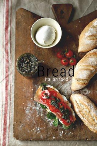 Bread Italian food
