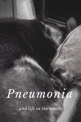 Pneumonia and life in the woods