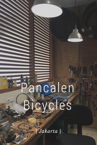 Pancalen Bicycles | Jakarta |
