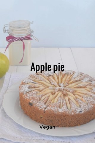 Apple pie Vegan