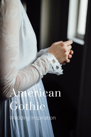 American Gothic Wedding Inspiration
