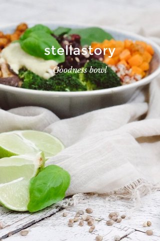 stellastory Goodness bowl