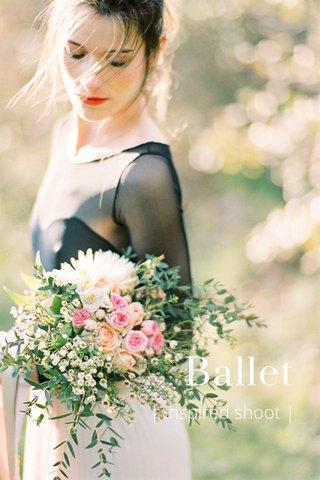Ballet | inspired shoot |