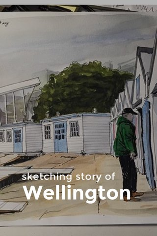 Wellington sketching story of
