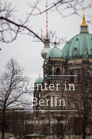 Winter in Berlin | take a stroll with me |