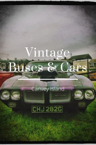 Vintage Buses & Cars Canvey Island