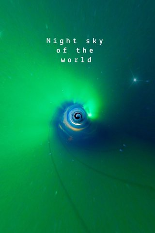 Night sky of the world