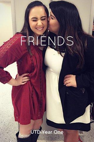 FRIENDS UTD Year One