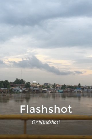 Flashshot Or blindshot?
