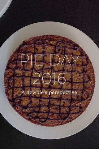 PIE DAY 2016 A newbie's perspective