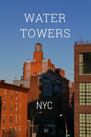 WATER TOWERS NYC