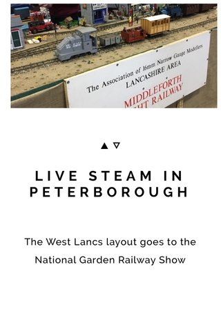 LIVE STEAM IN PETERBOROUGH