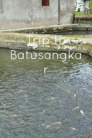 Trip to Batusangkar