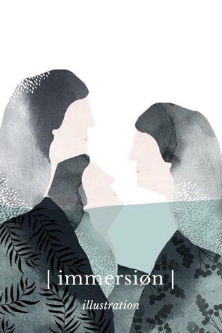 | immersiøn | illustration