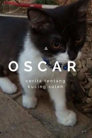 OSCAR cerita tentang kucing soleh