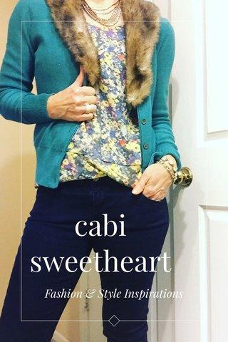 cabi sweetheart Fashion & Style Inspirations